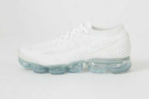 "The Nike Air VaporMax Flyknit 2.0 Gets Dressed in ""Triple White"""