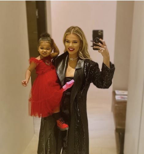 Khloé Kardashian and True Thompson Show Off Their Adorable Holiday-Inspired Outfits