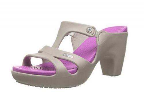 High-heeled Crocs are next-level hideous