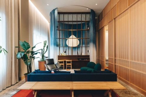 Former 1920s Bank Transformed into Contemporary Hotel in Tokyo