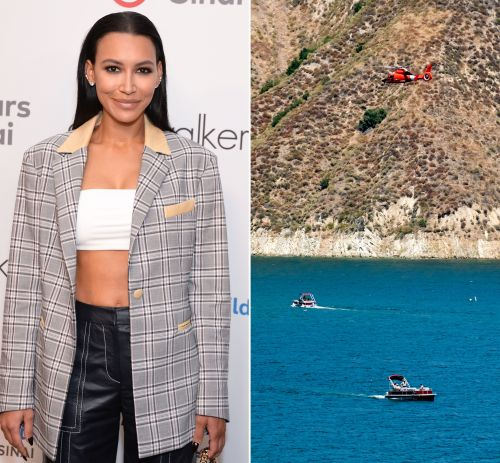Naya Rivera and Son Josey Dorsey Spotted Boarding Boat on Lake Piru in Video Released By Officials
