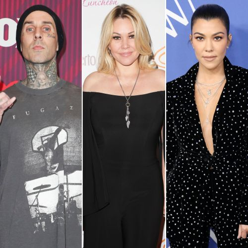 Travis Barker's Ex Shanna Moakler 'Likes' Comment Claiming He 'Downgraded Big Time' With Kourtney