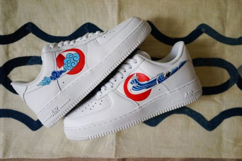 Simple Union & Flying Hawk Studio Give the Air Force 1 a Traditional Japanese Makeover