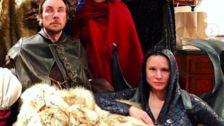 Kristen Bell Brings The Fire For Icy 'Game Of Thrones' Costume