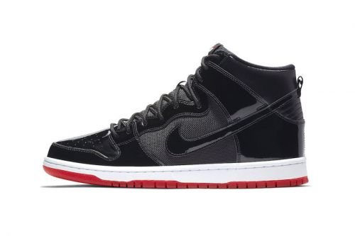 "Nike SB Dunk High ""Bred"" Releases This Month"