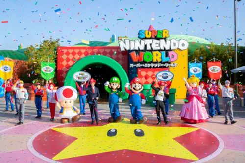 What the Opening Ceremony for Universal Studios Japan's Super Nintendo World