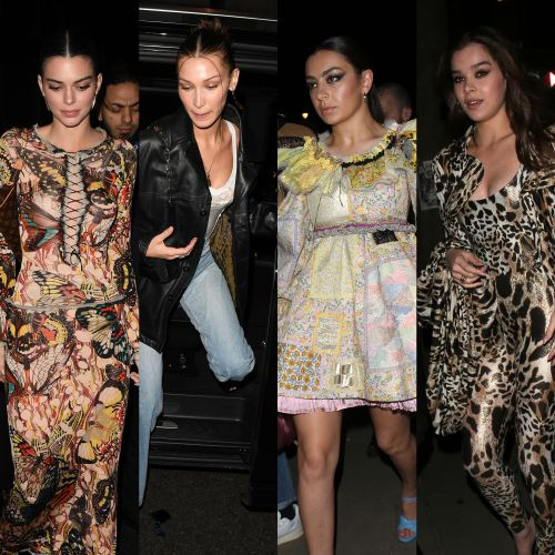 London Calling! Kendall Jenner, Bella Hadid and More Step Out at 'Love' Magazine's Fashion Week Party