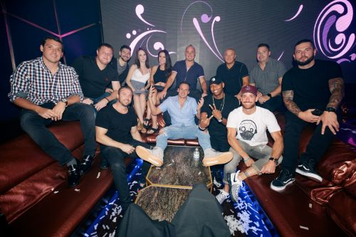 Birthday Boy Ryan Lochte Parties At Hakkasan In Las Vegas