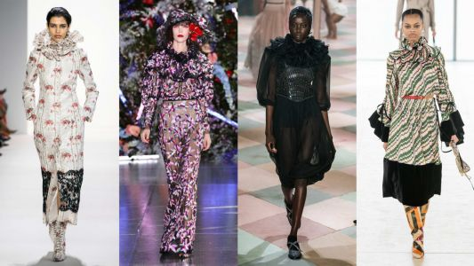 Get Ready for Ruffled Collars to Infiltrate Your Wardrobe This Fall