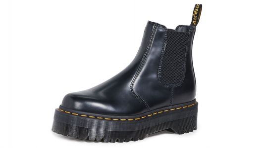 Now Maria Wants These Platform Dr. Martens In Chelsea-Boot Form