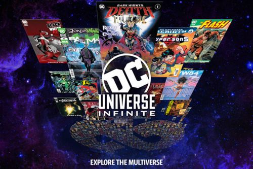 DC launches online comic book catalog, DC Universe Infinite