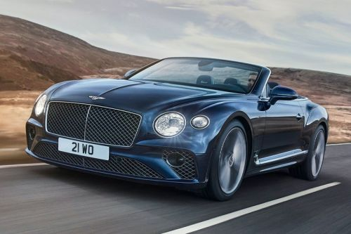 Bentley Officially Launches Its 2022 Continental GT Speed Convertible