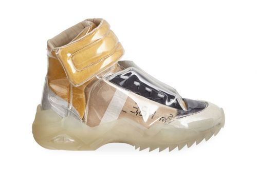 "Maison Margiela Releases Laminated ""New Future"" High-Tops"