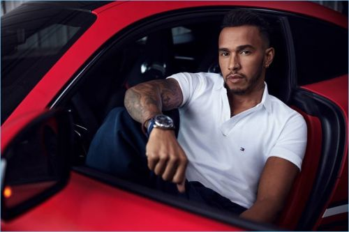 Tommy Hilfiger Taps Lewis Hamilton as Global Ambassador