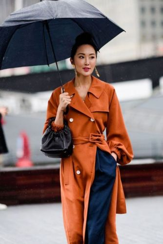 Best Street Style Moments At A Rainy NYFWSee all the winning