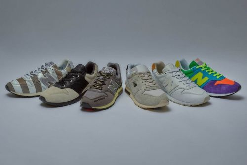 New Balance Launches CM996 Collabs with atmos, N.HOOLYWOOD & More