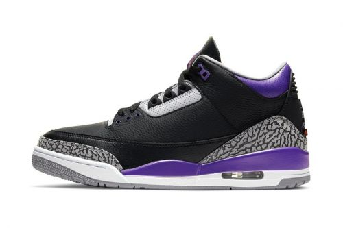 "The Air Jordan 3 ""Court Purple"" Is Releasing Outside of North America Only"