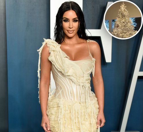 Kim Kardashian Shows Off Her 'Whoville' Winter Wonderland In-Home Christmas Decorations