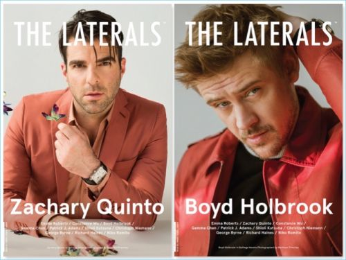 Zachary Quinto & Boyd Holbrook Cover The Laterals in Bottega Veneta