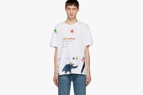 Vetements Drops Another Doodled T-Shirt for FW18