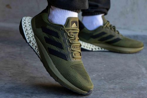 4D and BOOST Meet On This Hybrid adidas Sneaker