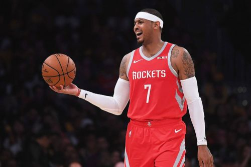 Houston Rockets to Part Ways With Carmelo Anthony After Just 10 Games