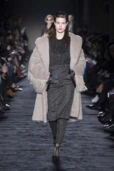 Max Mara Re-Launches the Iconic Teddy Coat for its Fall/Winter 18 Collection