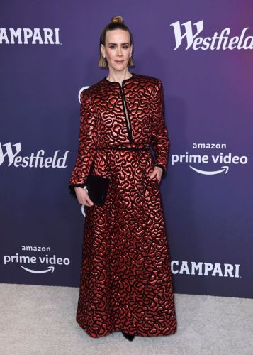 Sarah Paulson Wore the Trippiest Outfit, and We Can't Stop Staring at It