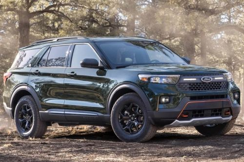 Ford Dials up the Explorer SUV's Off-Road Capabilities With a Timberline Edition