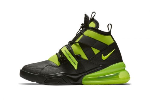 "Nike Is Set to Drop the Air Force 270 Utility in a ""Volt"" Colorway"