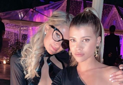 Sofia Richie and Paris Hilton's BFF Photo Shoot at Kourtney Kardashian's Birthday Is Everything