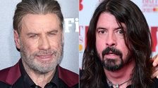 John Travolta Busts Out Some 'Grease' Dance Moves At Foo Fighters Show