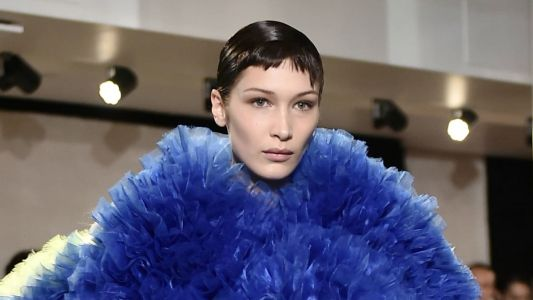 Bella Hadid and Emily Ratajkowski Got Choppy Baby Bangs for a Buzzy Designer's NYFW Debut