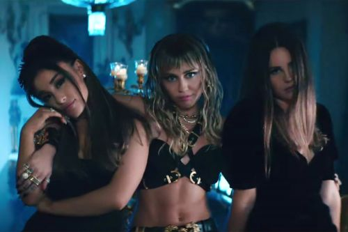 Ariana Grande, Miley Cyrus and Lana Del Rey reveal new 'Charlie's Angels' video