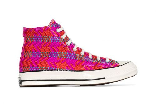 Converse Chuck Taylor Gets Wicker-Inspired Update With Colorful Woven Detail