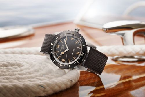 Longines Adds A New Heritage Skin Diver to Its Lineup