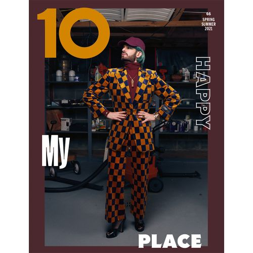 Ten Meets Marc Jacobs, Who Wears Gucci For the Final Cover of Issue 66