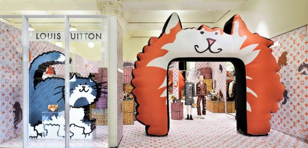 The Grace Coddington x Louis Vuitton Collab Is Hitting The Shops