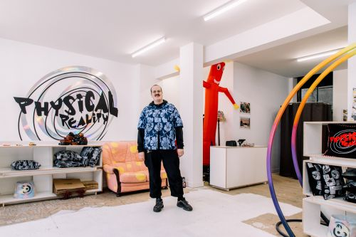 Ten Minutes with Liam Hodges as He Opens His First Retail Space - Physical Reality