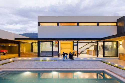 """The Collector's House"" Is Informed by Mountains & Sunsets"