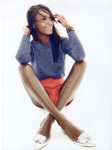 Jasmine Tookes for the J. Crew S/S 2015 campaign