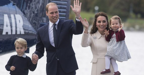 Both William and Kate May Take Prince George to His First Day of School This Year