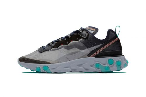 """Nike's React Element 87 Takes a """"South Beach"""" Vacation"""
