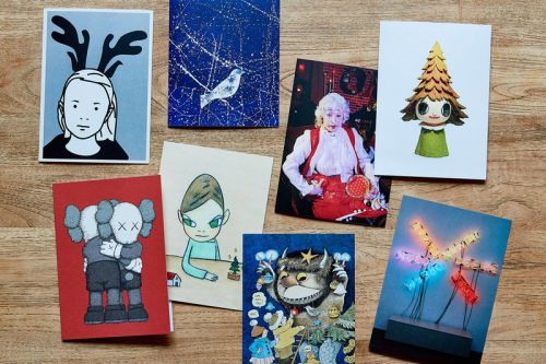 The MoMA Design Store Is Giving Away 2018 Artist Holiday Cards