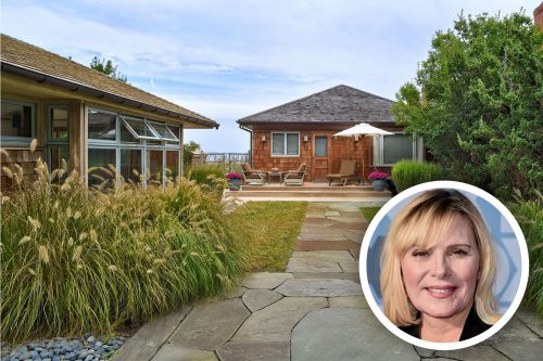 'Filthy Rich' star Kim Cattrall lists her cozy East Hampton cottage