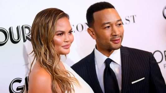 John Legend's Lyric About Chrissy Teigen's 'Curves And Edges' Is Actually About Her Feet