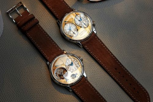 Two Ultra-Rare F.P.Journe Watches Land on A COLLECTED MAN