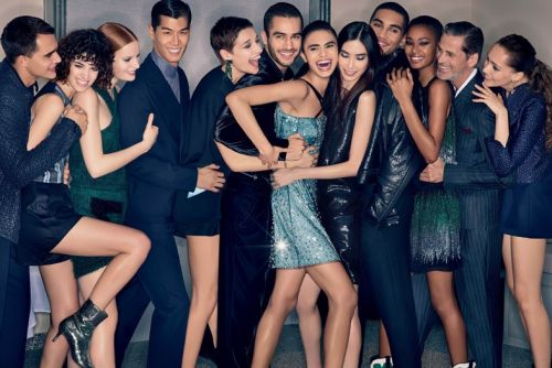 Emporio Armani models dance on tables in new AW18 campaign
