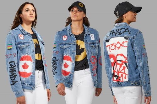 Twitter pokes fun at Canada's denim-clad Olympic closing ceremony look