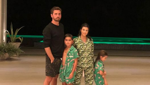 *Ko-Parenting* At Its Finest! Kourtney Kardashian And Scott Disick Take Their Kids To Universal Studios